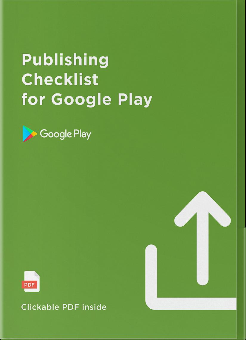 App Publishing Checklist for Google Play