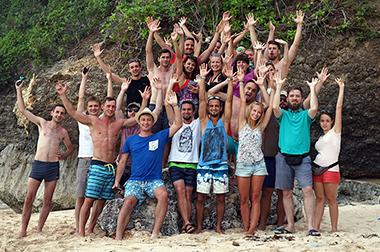 Droids On Roids Bali team photo