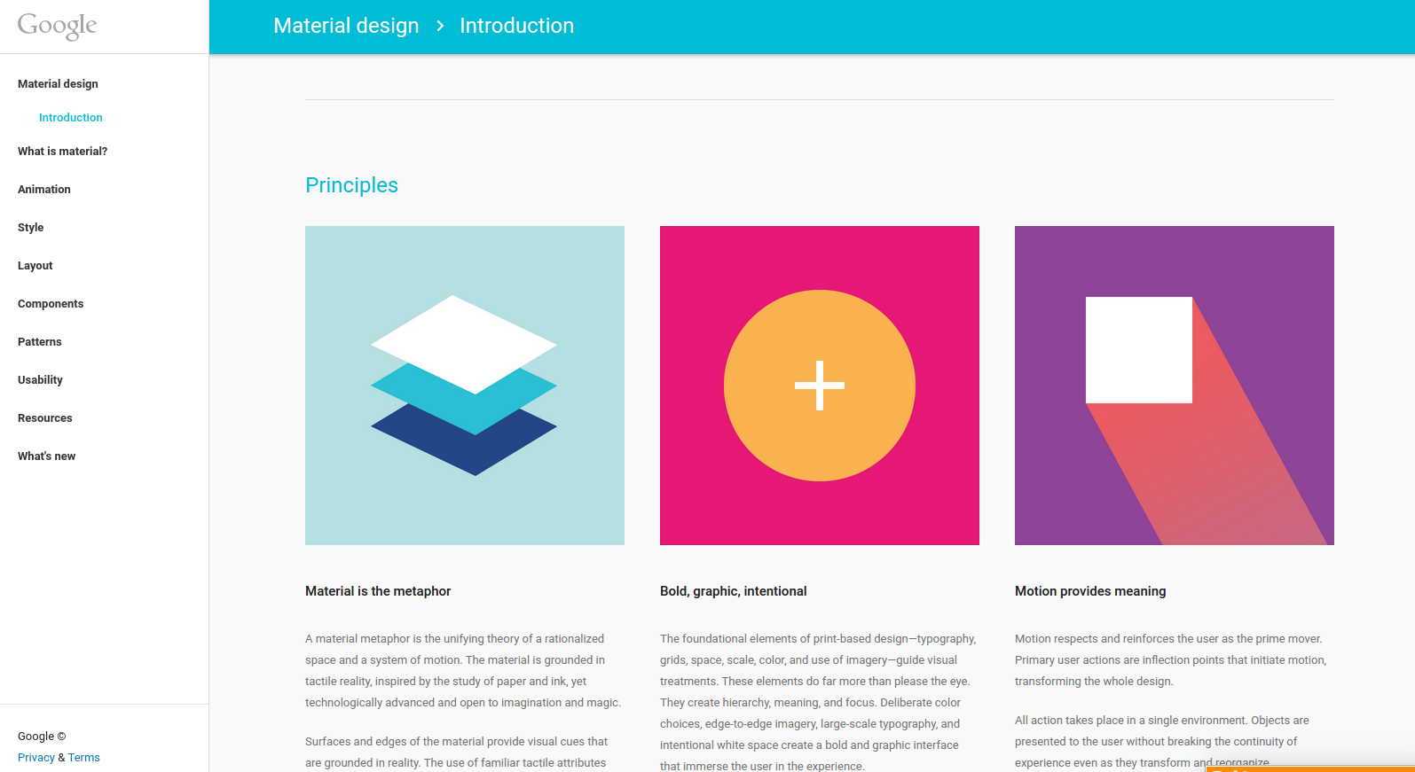 Android Developer Material Design