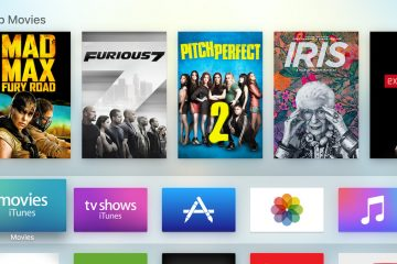 Apple TV Menu