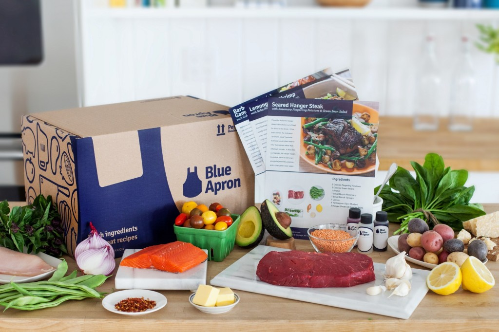 Blue Apron Ingredients Box – UX Poland 2016