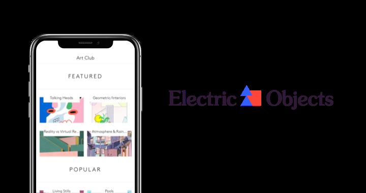 Digital display app and mobile app controlling it