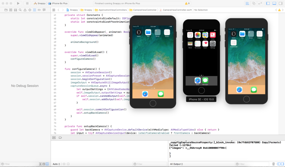 Xcode9 run multiple simulators at the same time