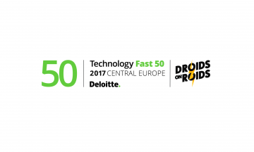 DROIDS ON ROIDS RANKED IN DELOITTE TECHNOLOGY FAST 50 CENTRAL EUROPE 2017