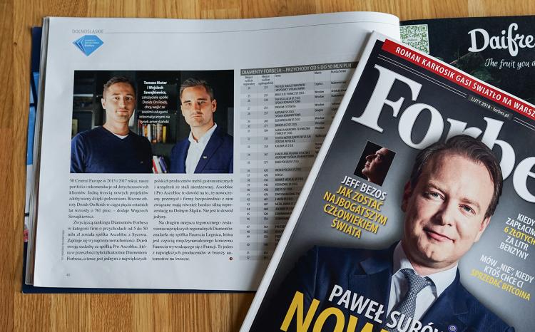 Forbes Diamenty 2018 Droids On Roids
