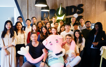 Students Visit at Droids On Roids Office