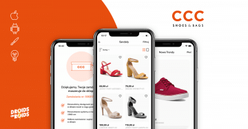 CCC – top mobile commerce app example