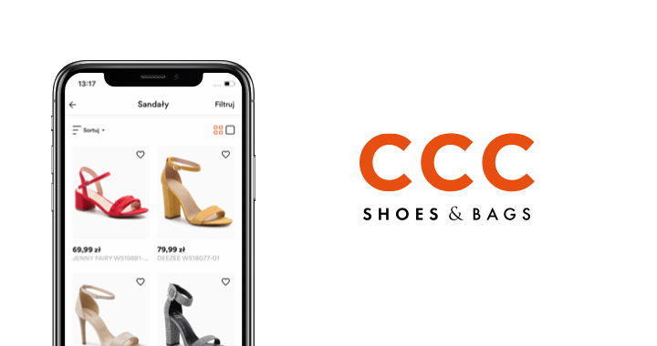 Mobile commerce app for shoes & bags stores