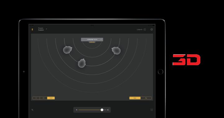 Wireless soundbar control app