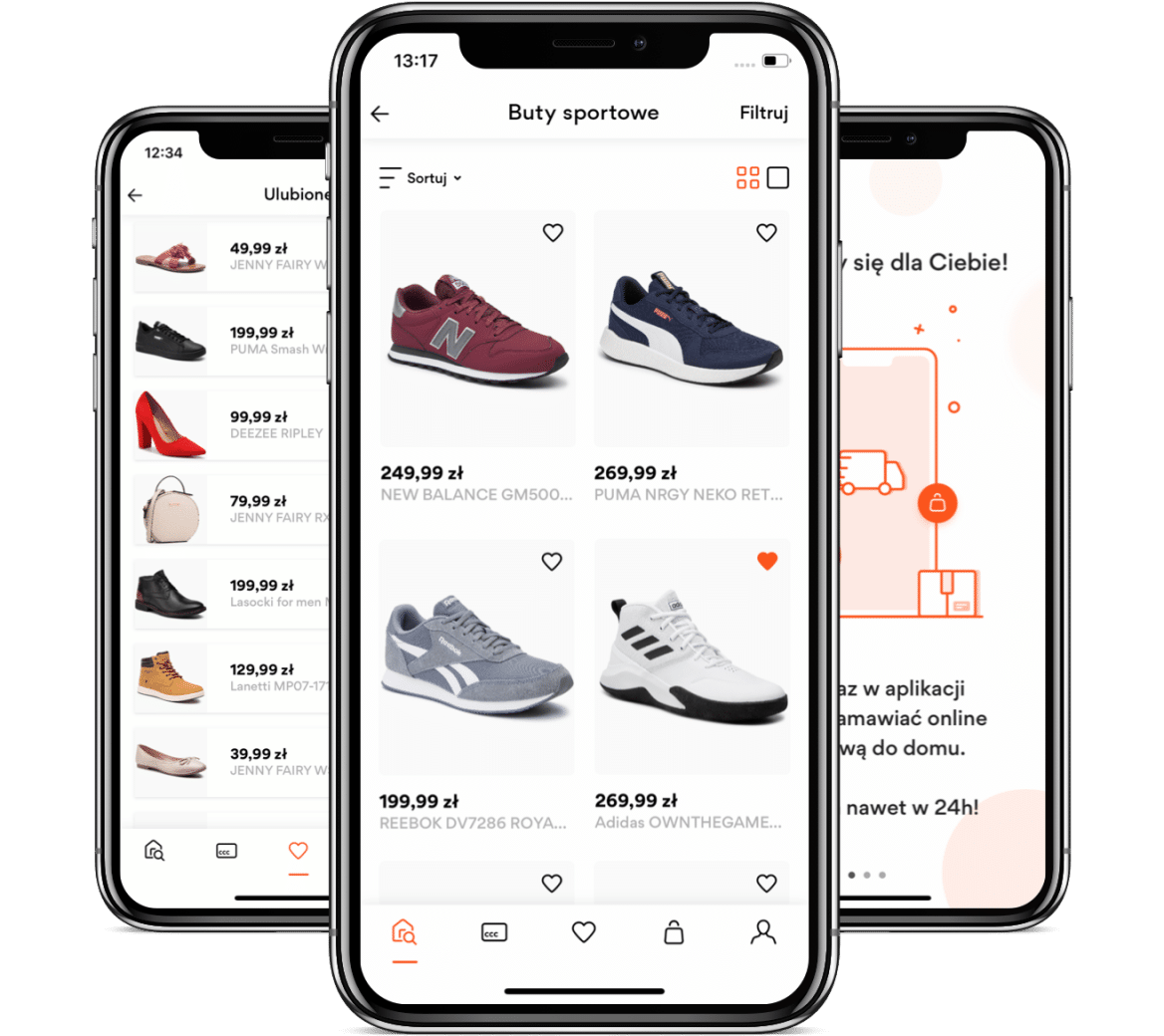CCC Shoes & Bags – Award winning Mobile Commerce App Case Study