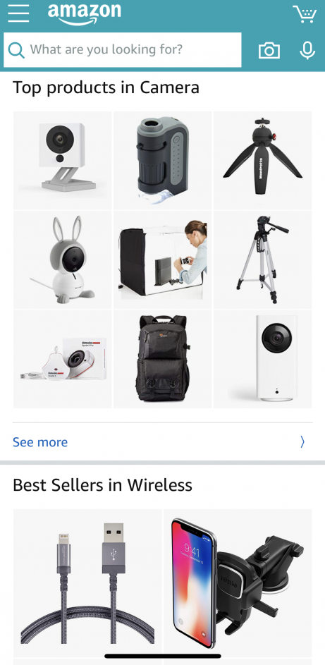 amazon mcommerce app