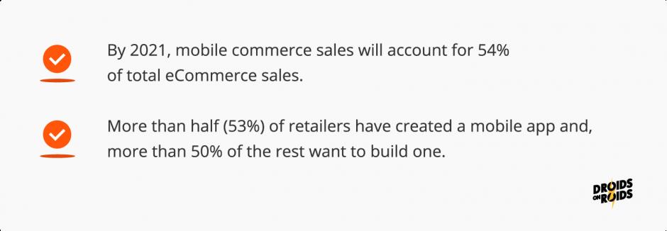 What is mCommerce – a few important statistics