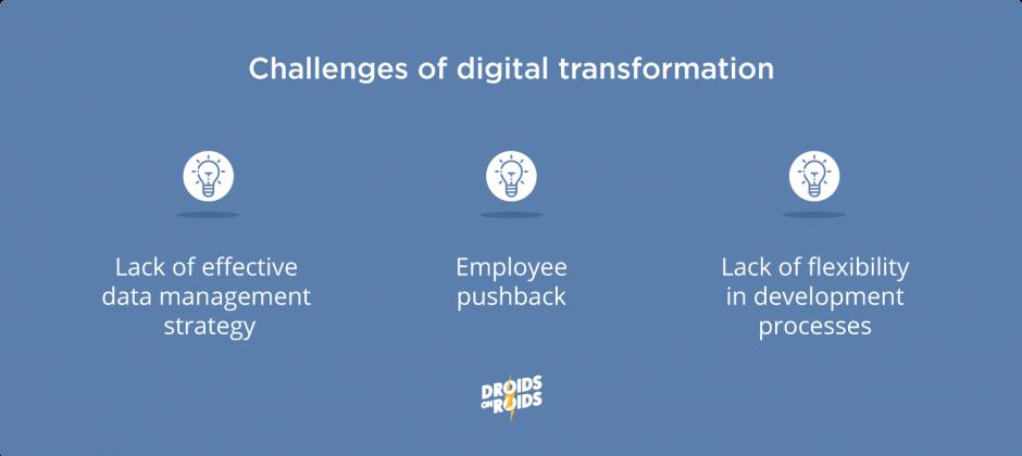 challenges of digital transformation
