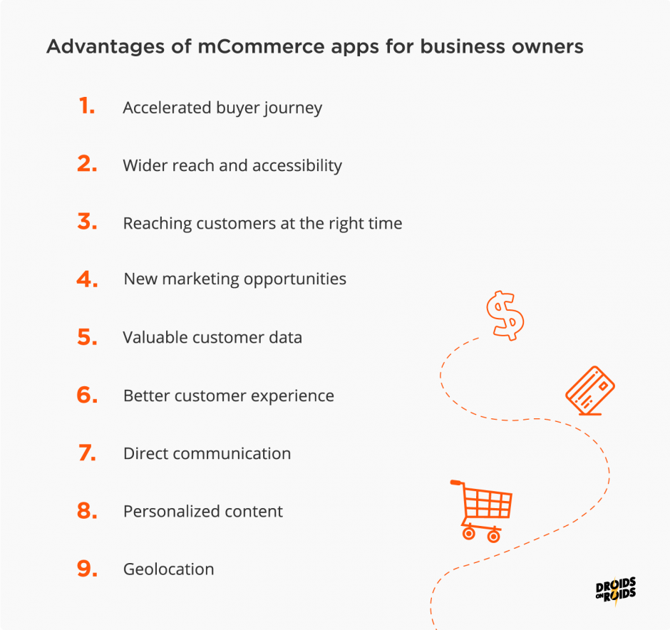 Advantages of Mobile Commerce for Businesses