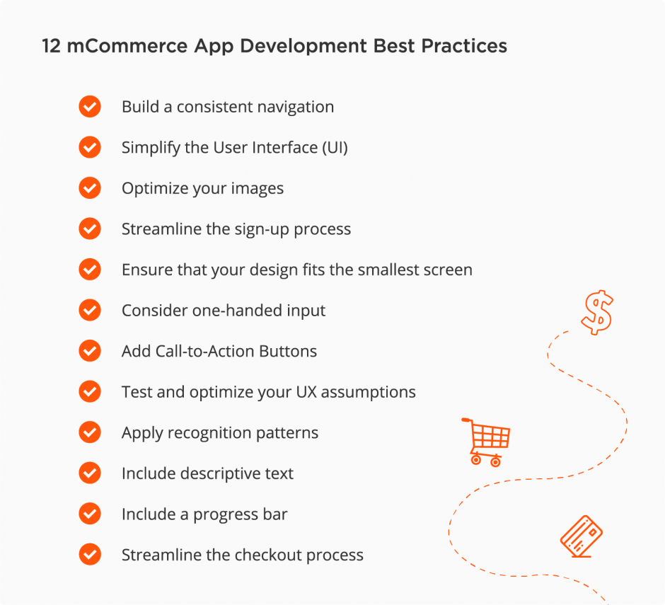 mobile eCommerce best practices to follow