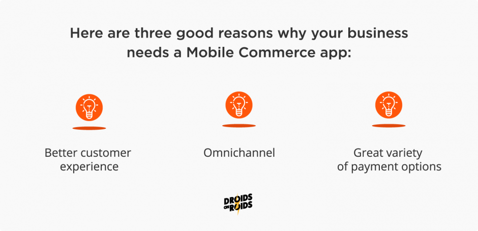 What is mCommerce and why your business needs a mCommerce app