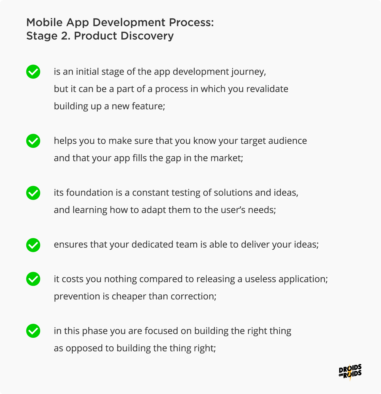 Mobile App Development Process – Product Discovery Phase
