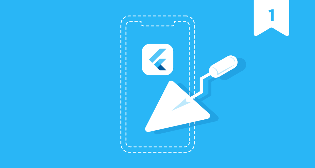 how to build an app in Flutter – introduction for beginners