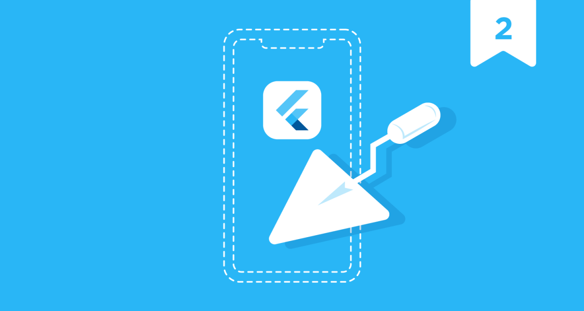 how to build an app in Flutter - project setup