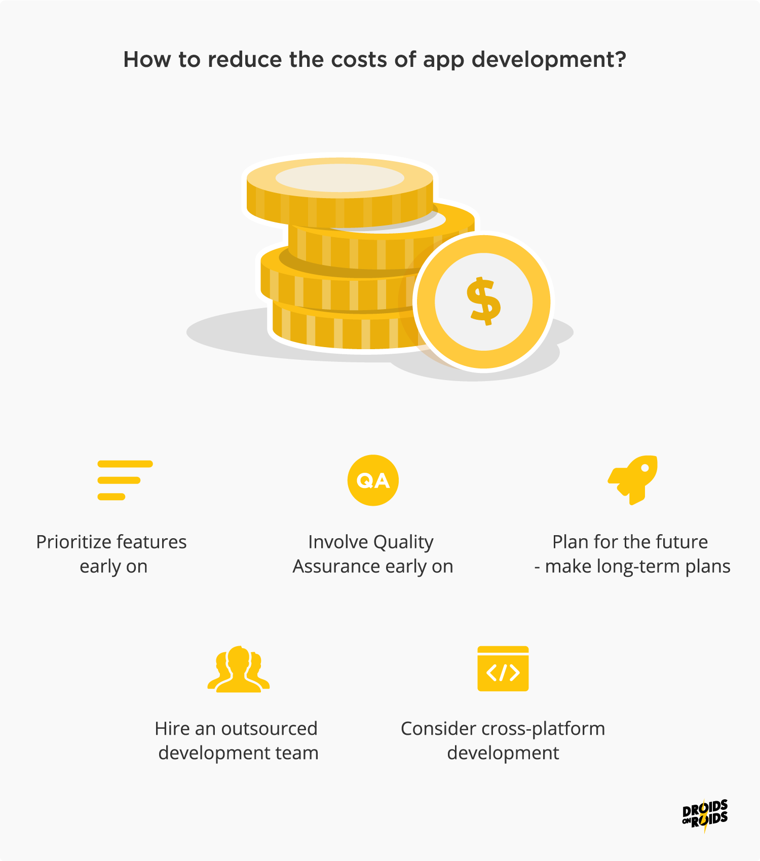 How to reduce the costs of app development