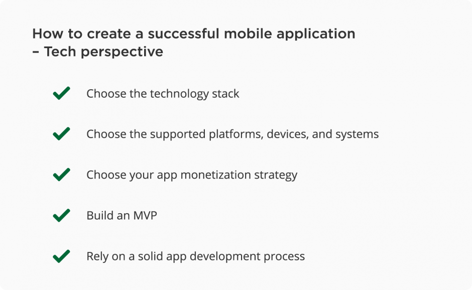 How to create a successful mobile app – developers tips
