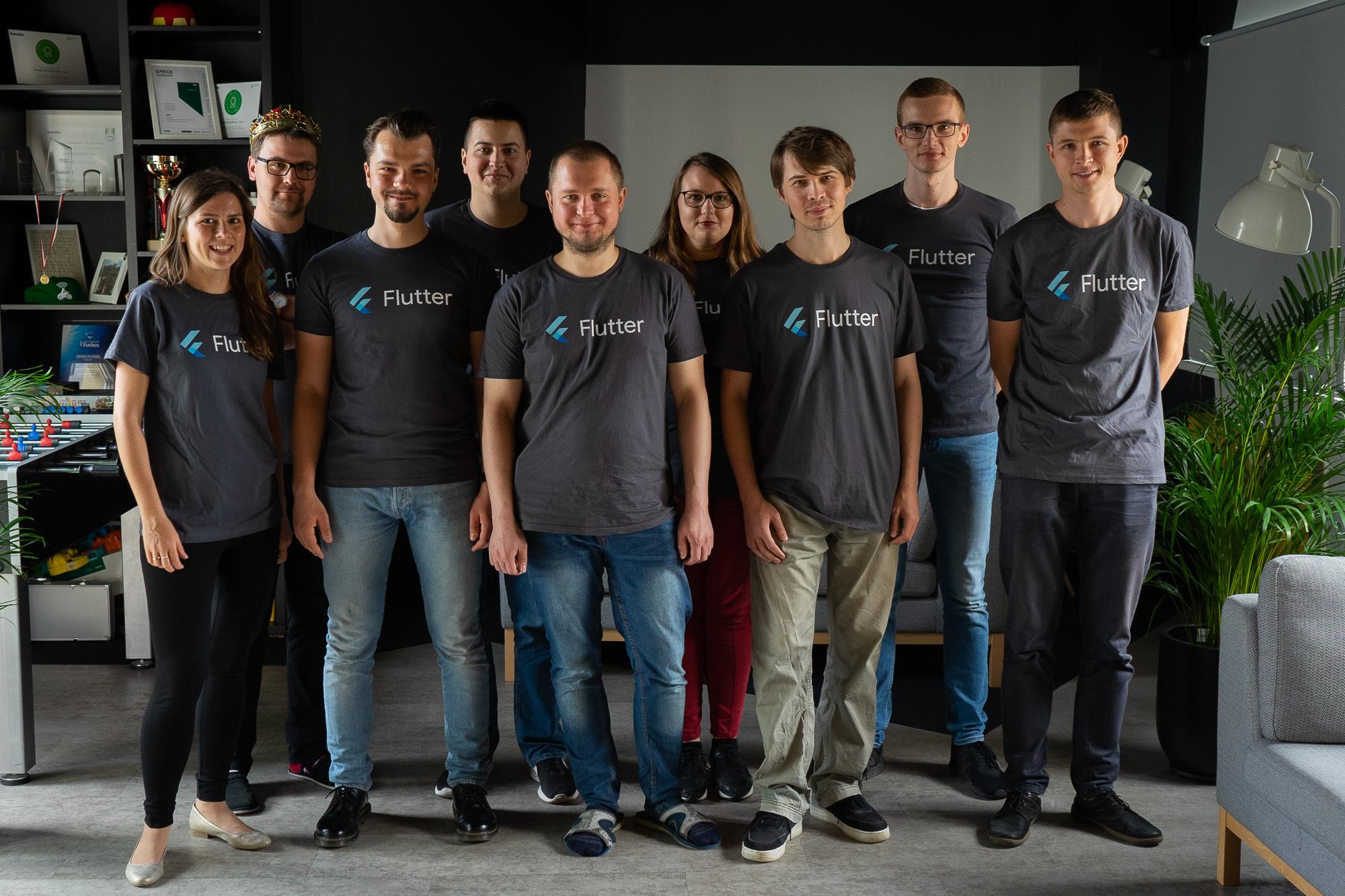 flutter team