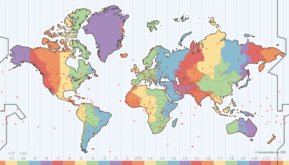 Time zones - edge cases in app development