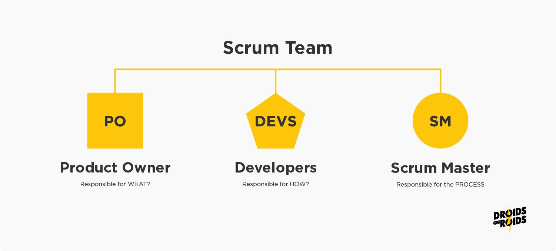 Scrum Team in App Development